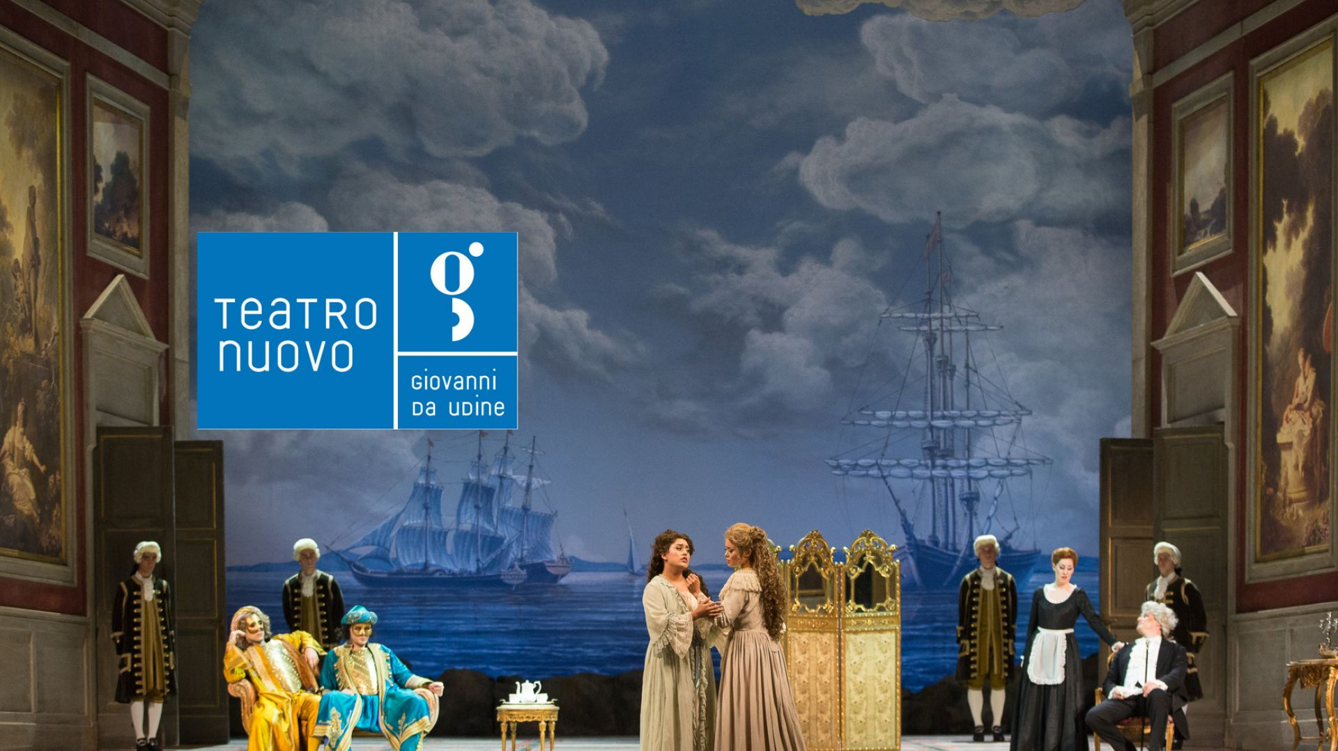 """Saturday May 5th """"Così fan tutte"""" at Udine"""